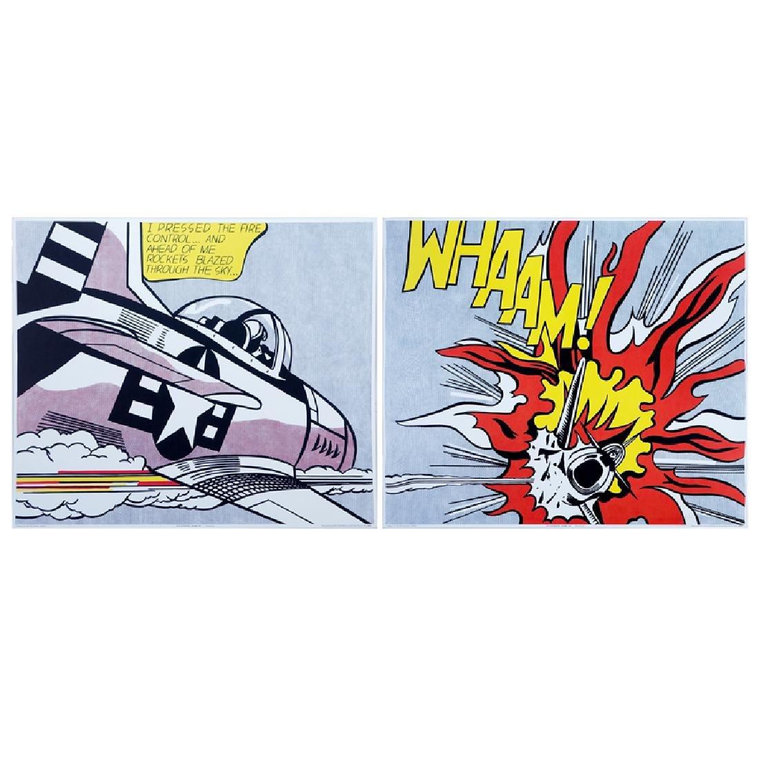 """Roy Lichtenstein, American (1923 - 1997) """"Whaam! 1963"""""""