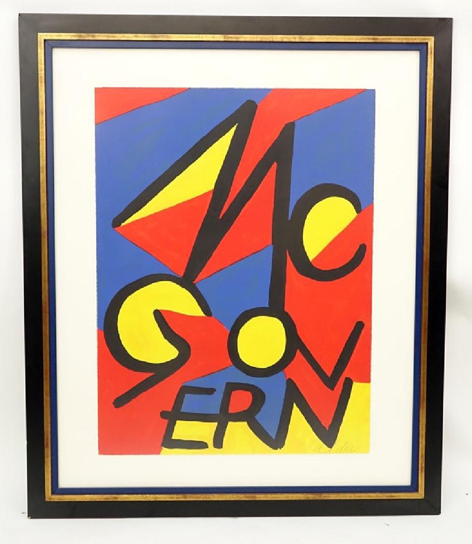 Alexander Calder, American (1898-1976) Color lithograph - 2