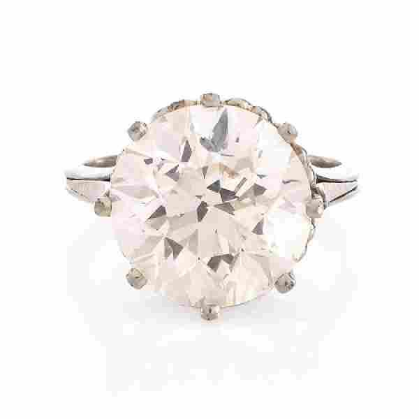 GIA Certified 8.23 Ct Round Brilliant Cut Diamond 18kt