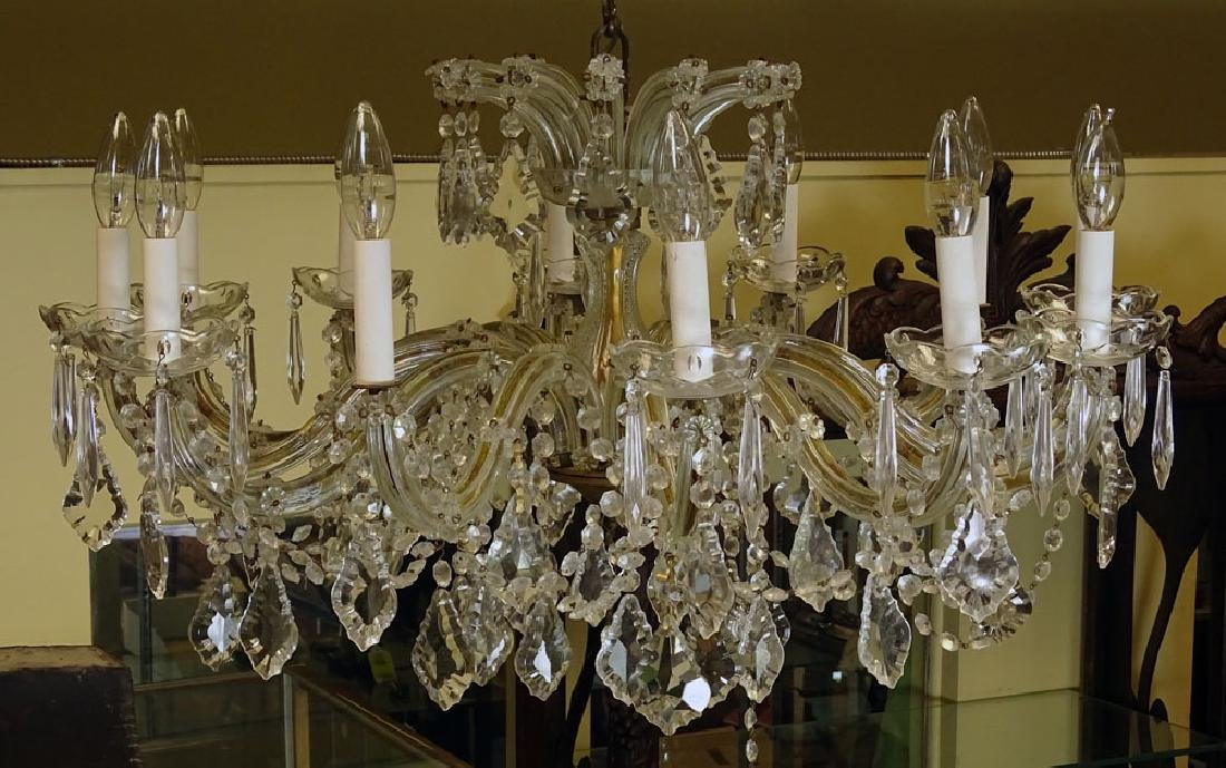 Vintage Maria Theresa style  Chandelier - 2