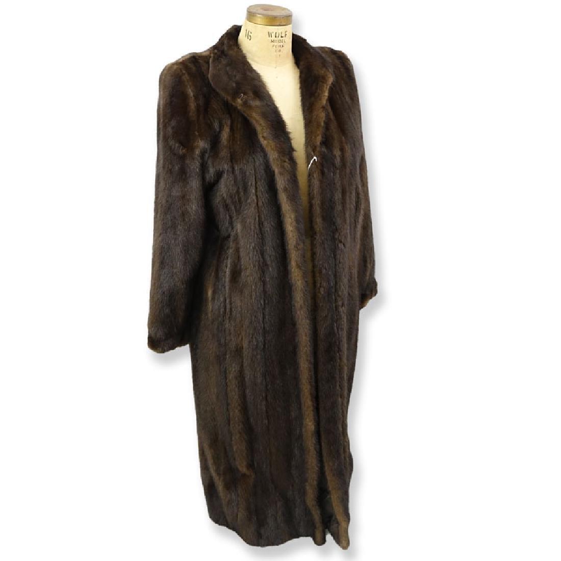 Vintage Antonovich Full Length Mink Coat