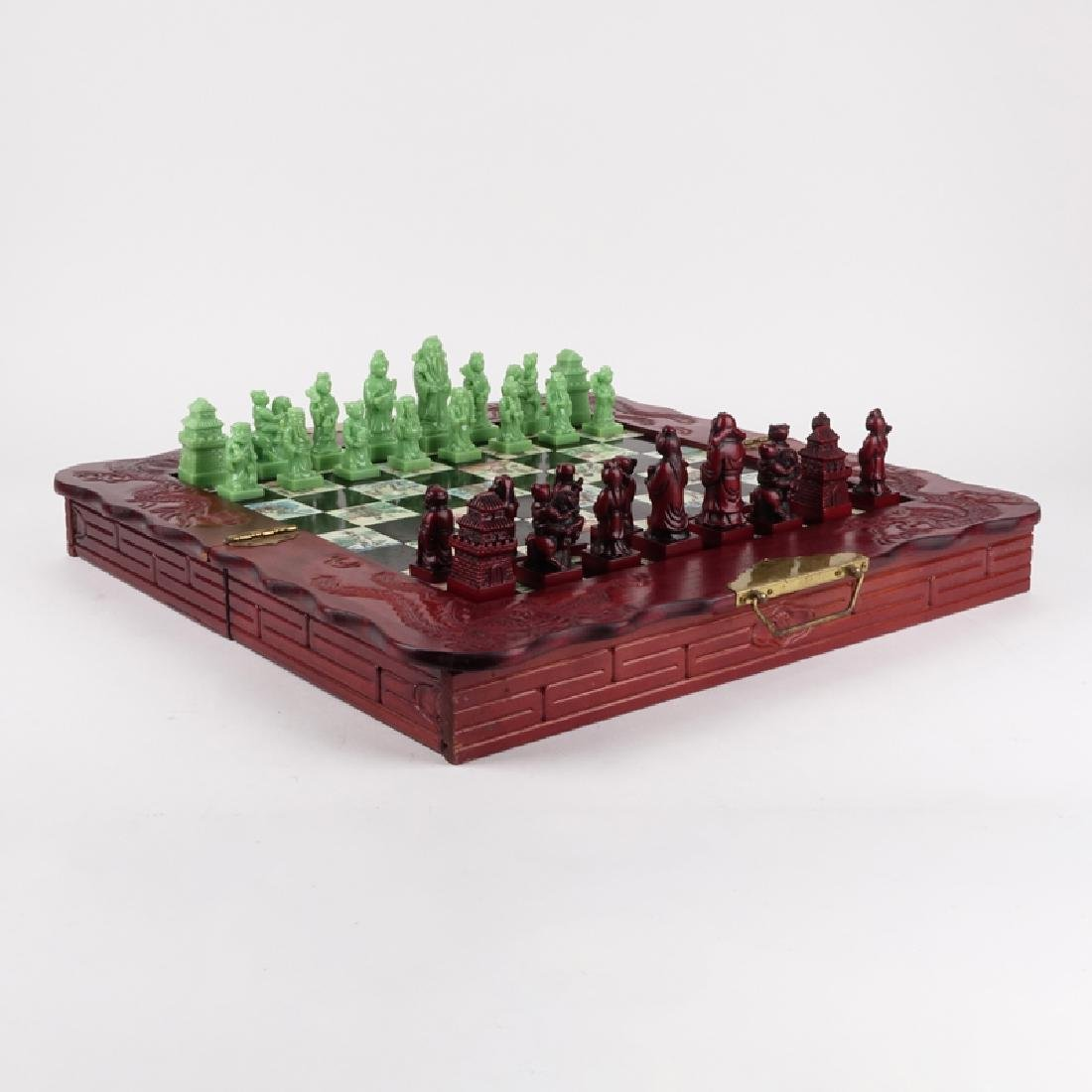 Vintage Chinese Chess Set