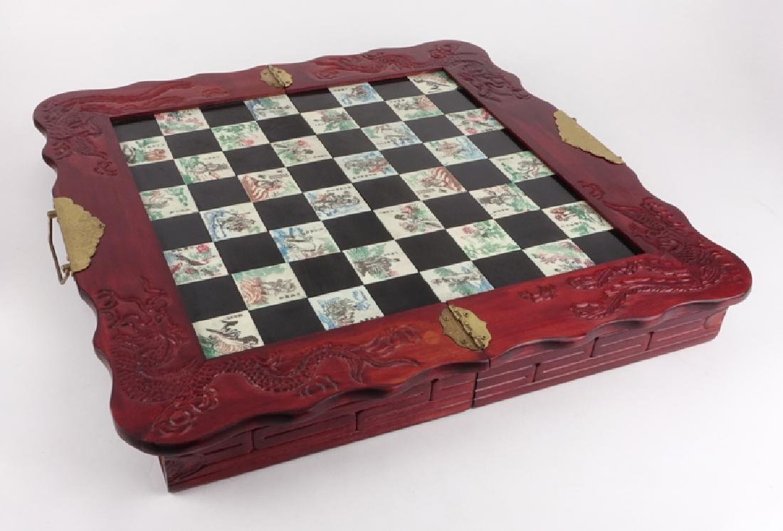 Vintage Chinese Chess Set - 6