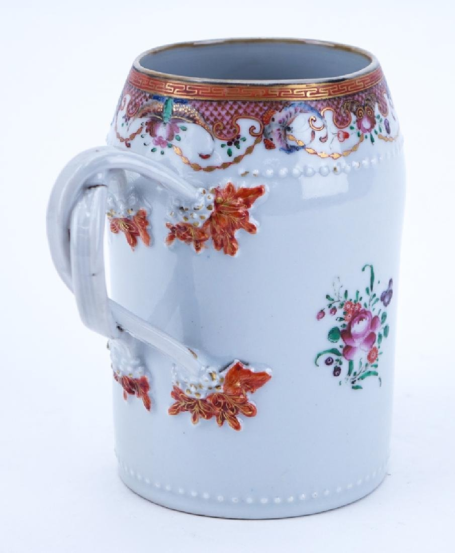 Early Chinese Export Porcelain Tankard - 2
