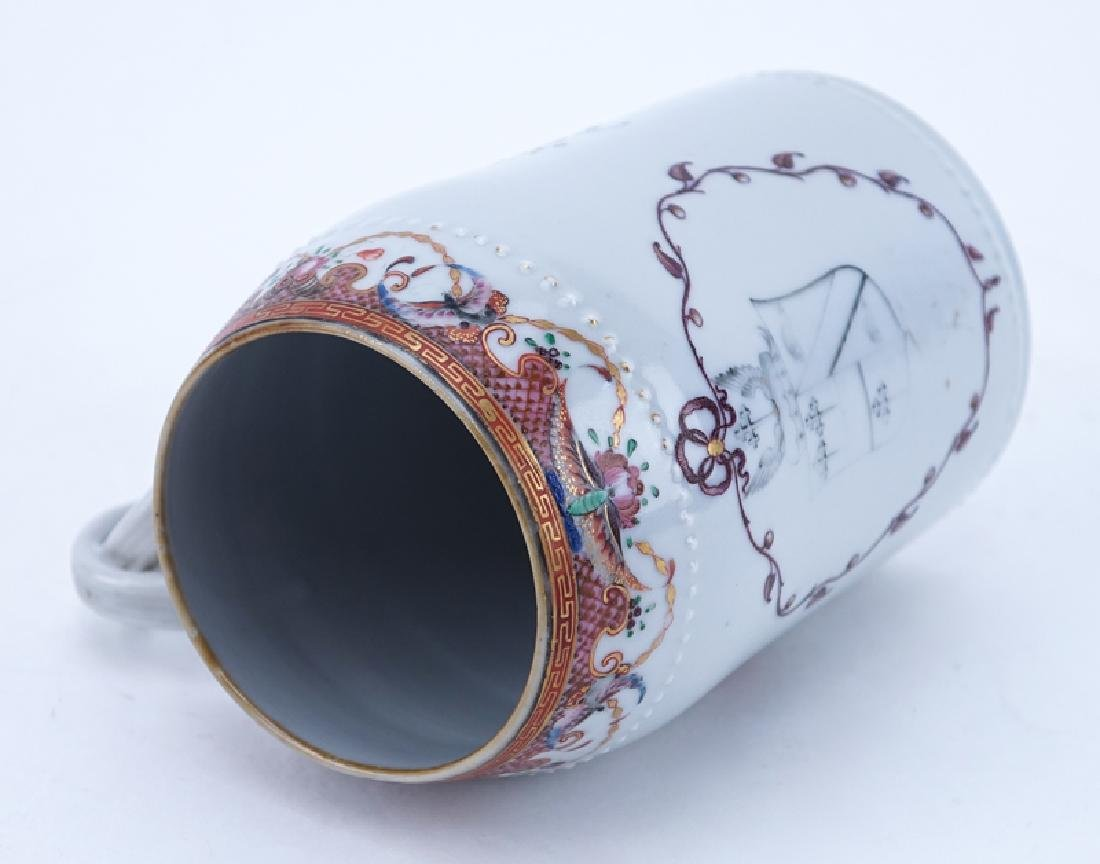 Early Chinese Export Porcelain Tankard - 3