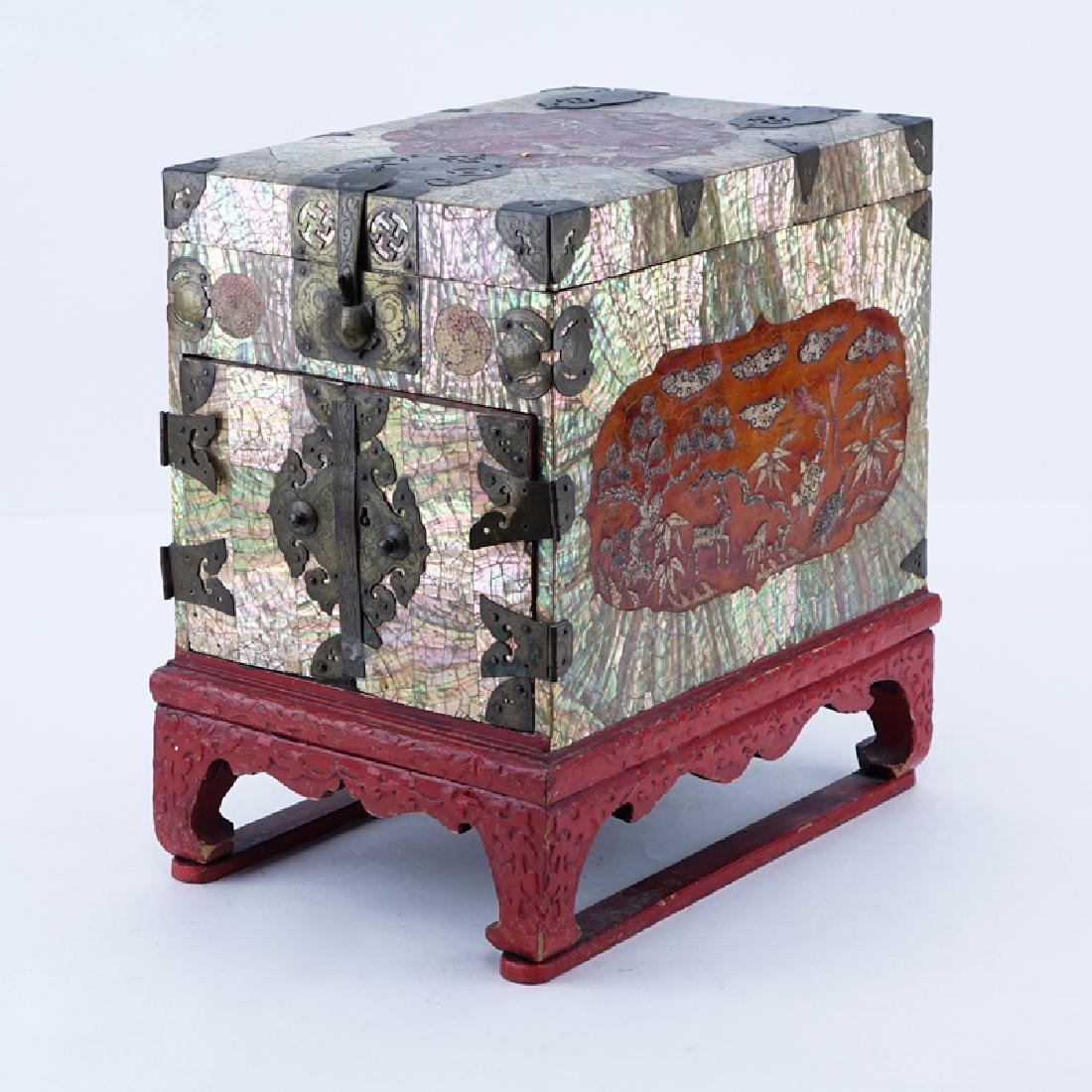 Antique Chinese Jewel Chest