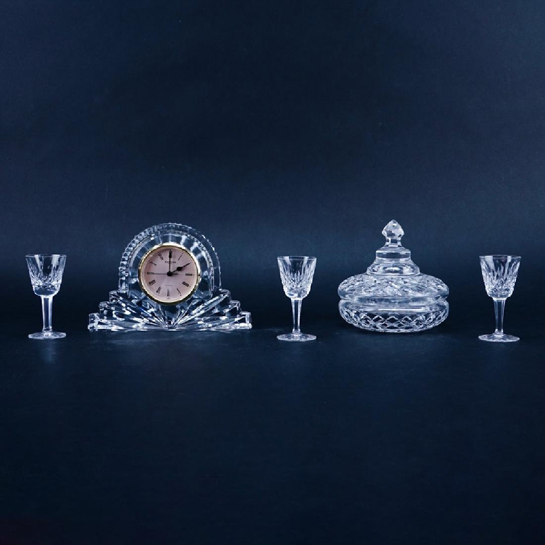 Collection of Five (5) Waterford Crystal Tableware