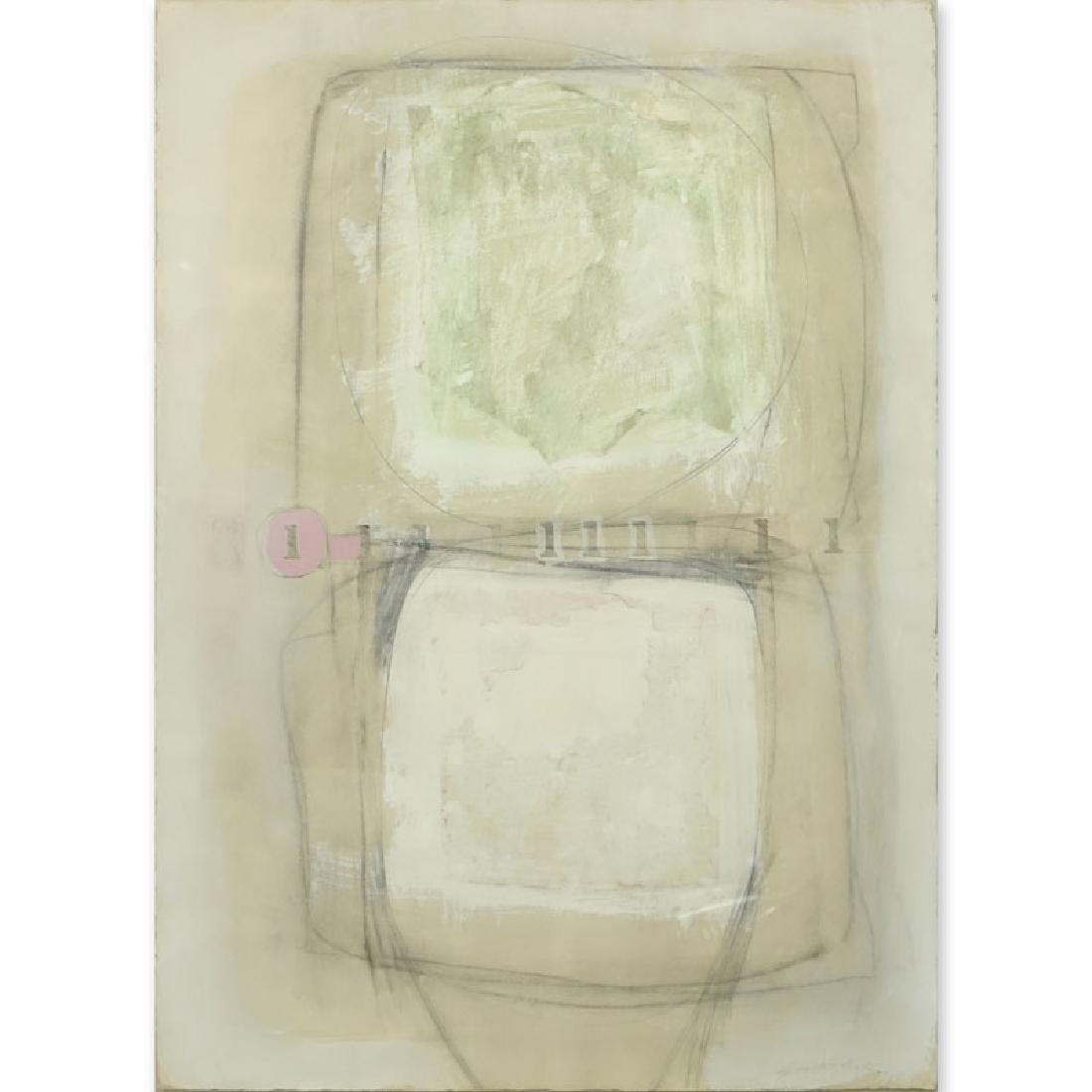 Carol Seitchik, American  (20/21st C) Gouache on paper