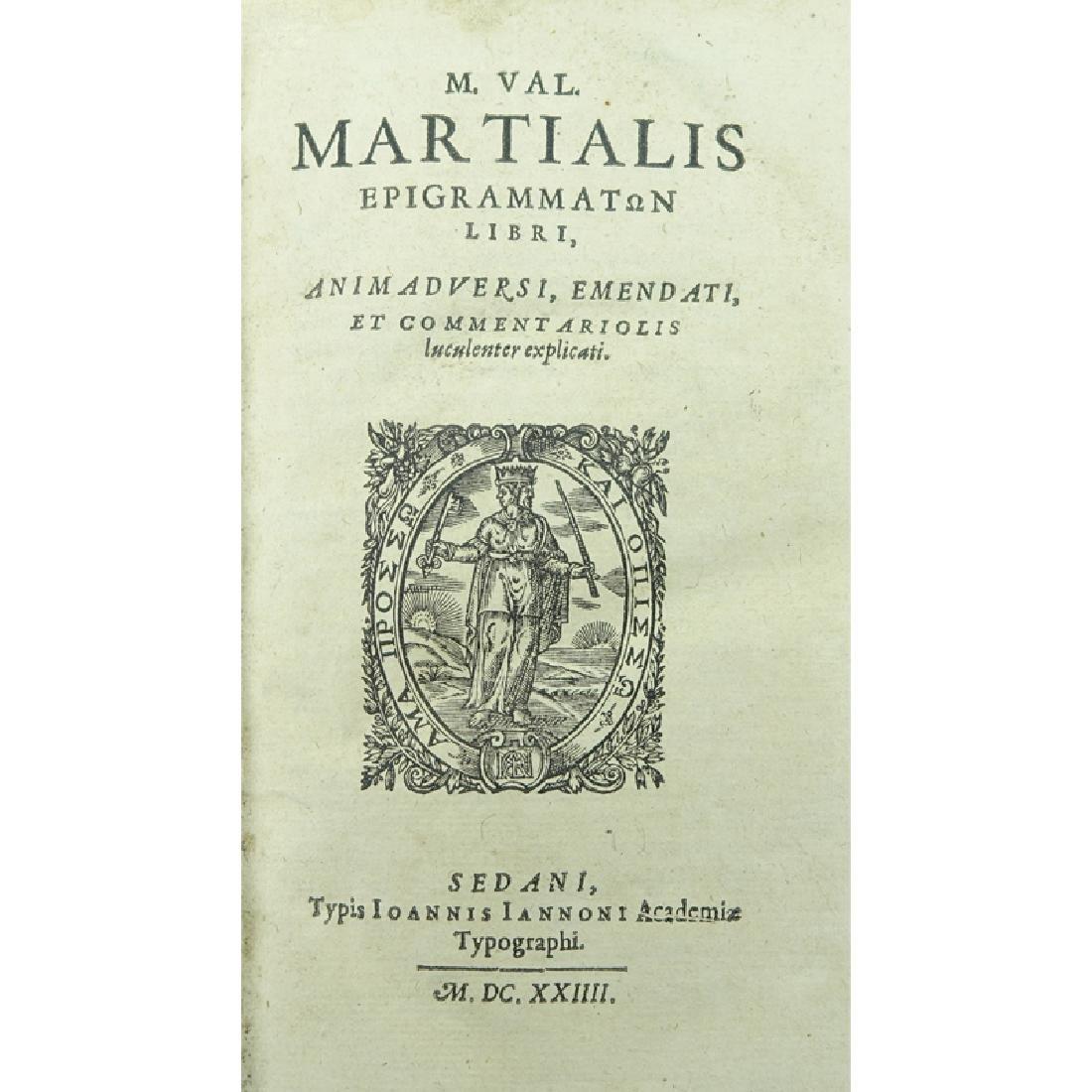 Rare Antiquarian Book in Latin