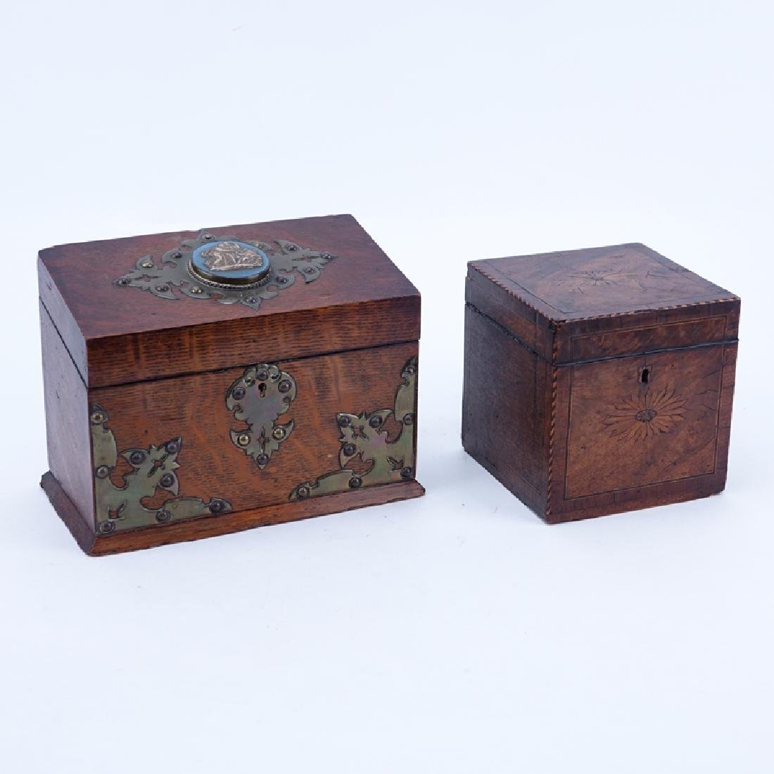 Two (2) Antique Boxes