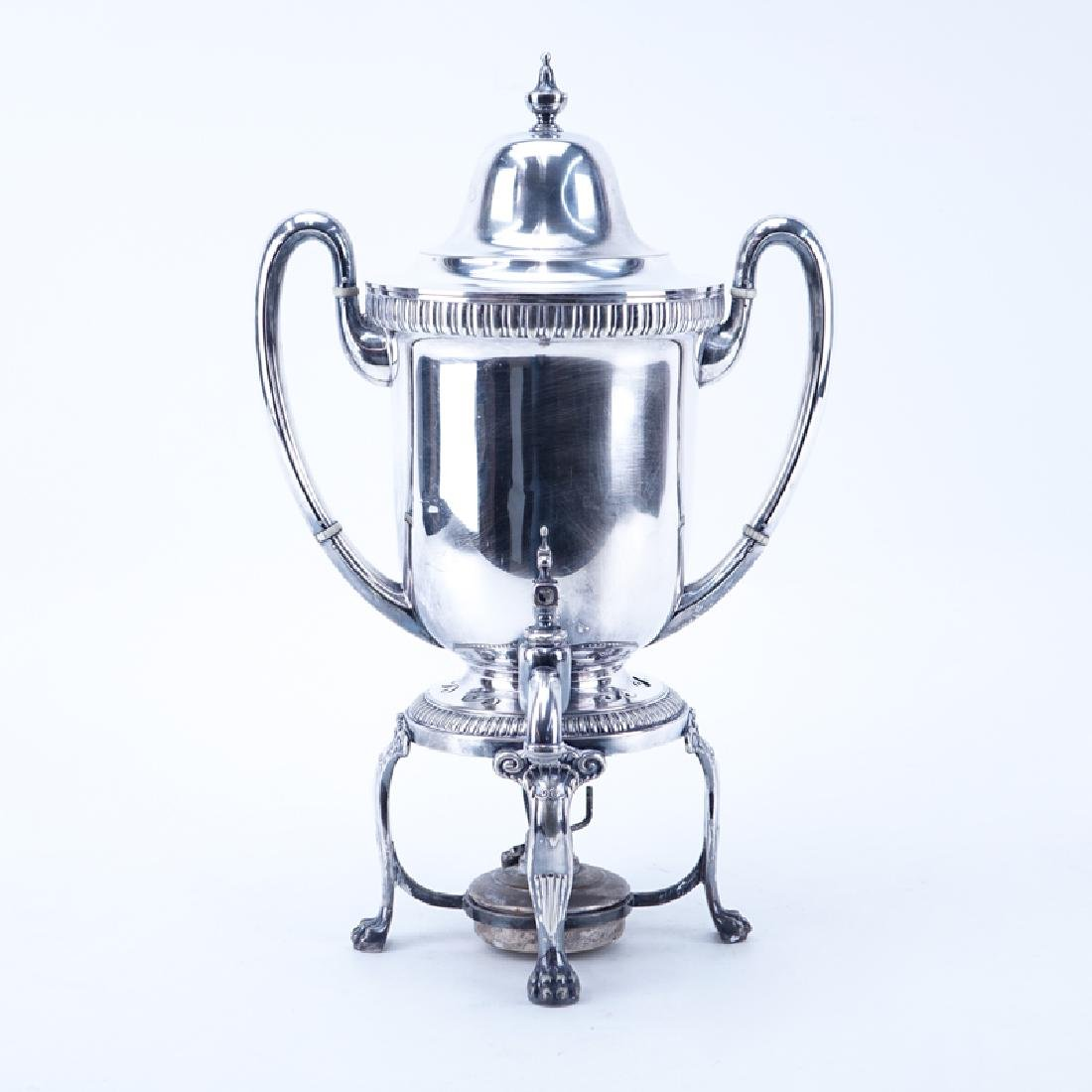 Antique Tiffany & Co. Silver Clad Samovar