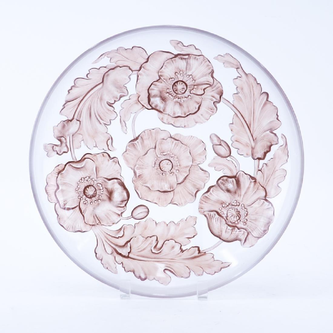 Large Vintage Art Glass Bowl