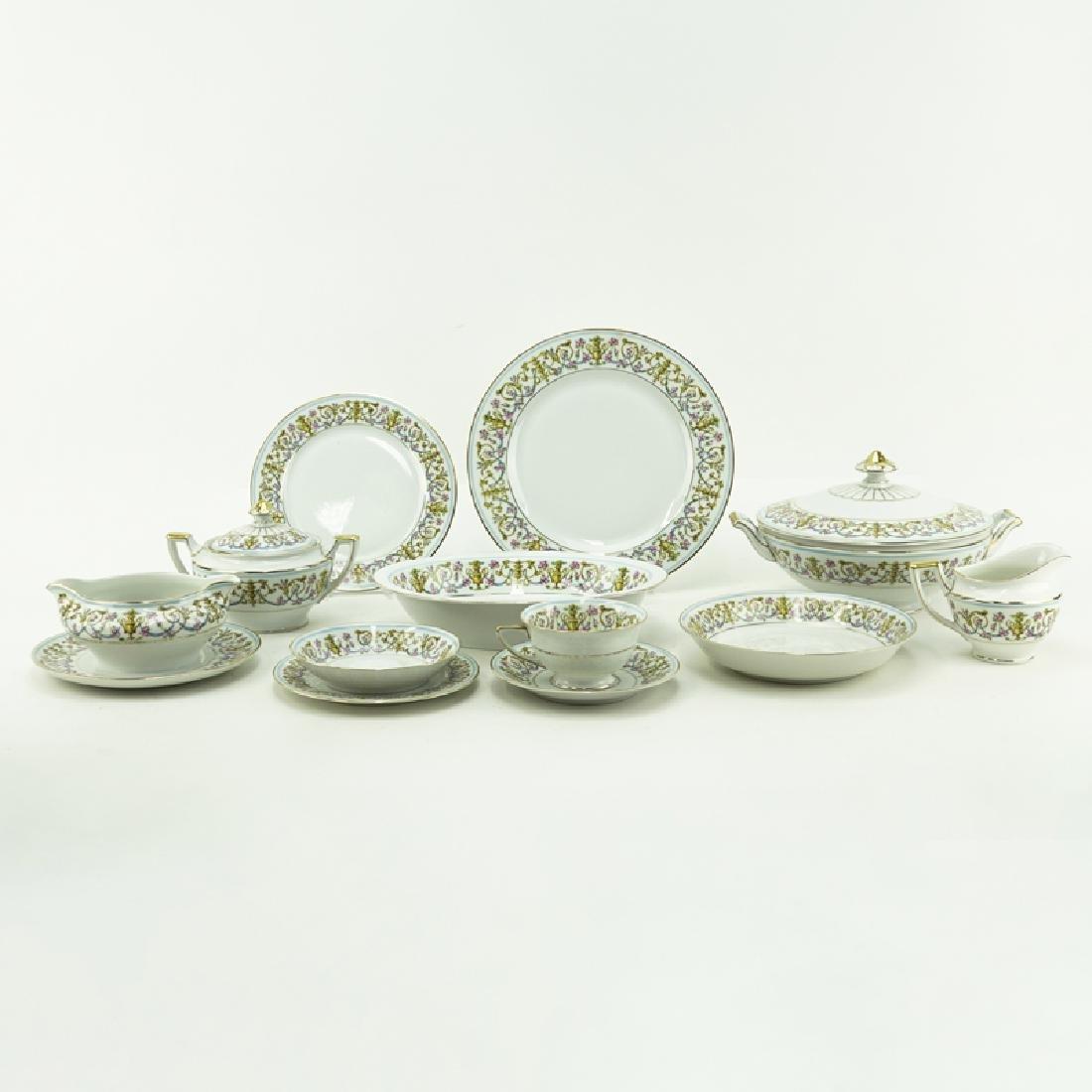 Eighty-Nine (89) Pieces Heinrich H&C Rococo Dinnerware