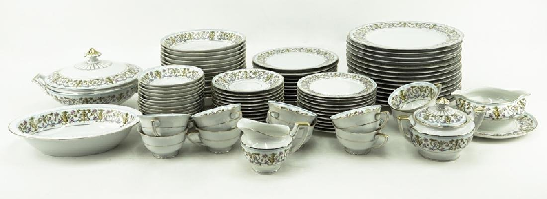 Eighty-Nine (89) Pieces Heinrich H&C Rococo Dinnerware - 2