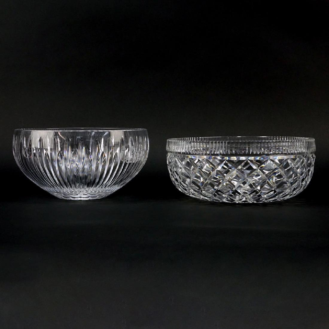 Two (2) Waterford Crystal Round Bowls.