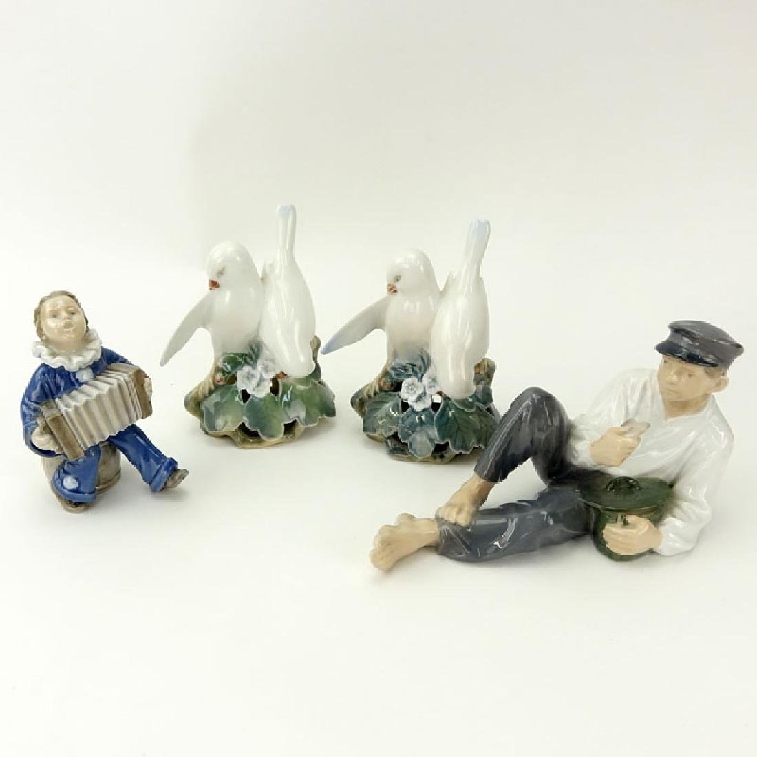 Collection of Four (4) Royal Copenhagen Figurines