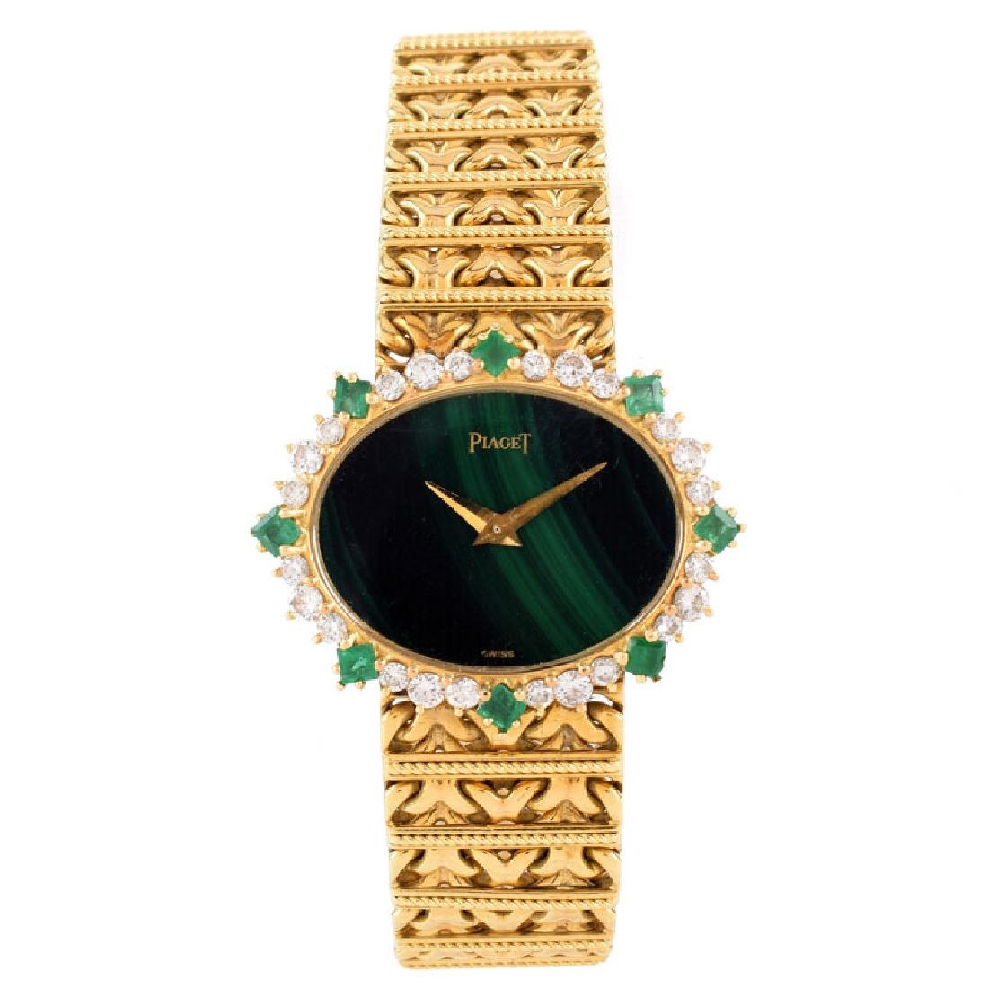 Lady's Vintage Piaget 18 Karat Yellow Gold, Diamond and - 2