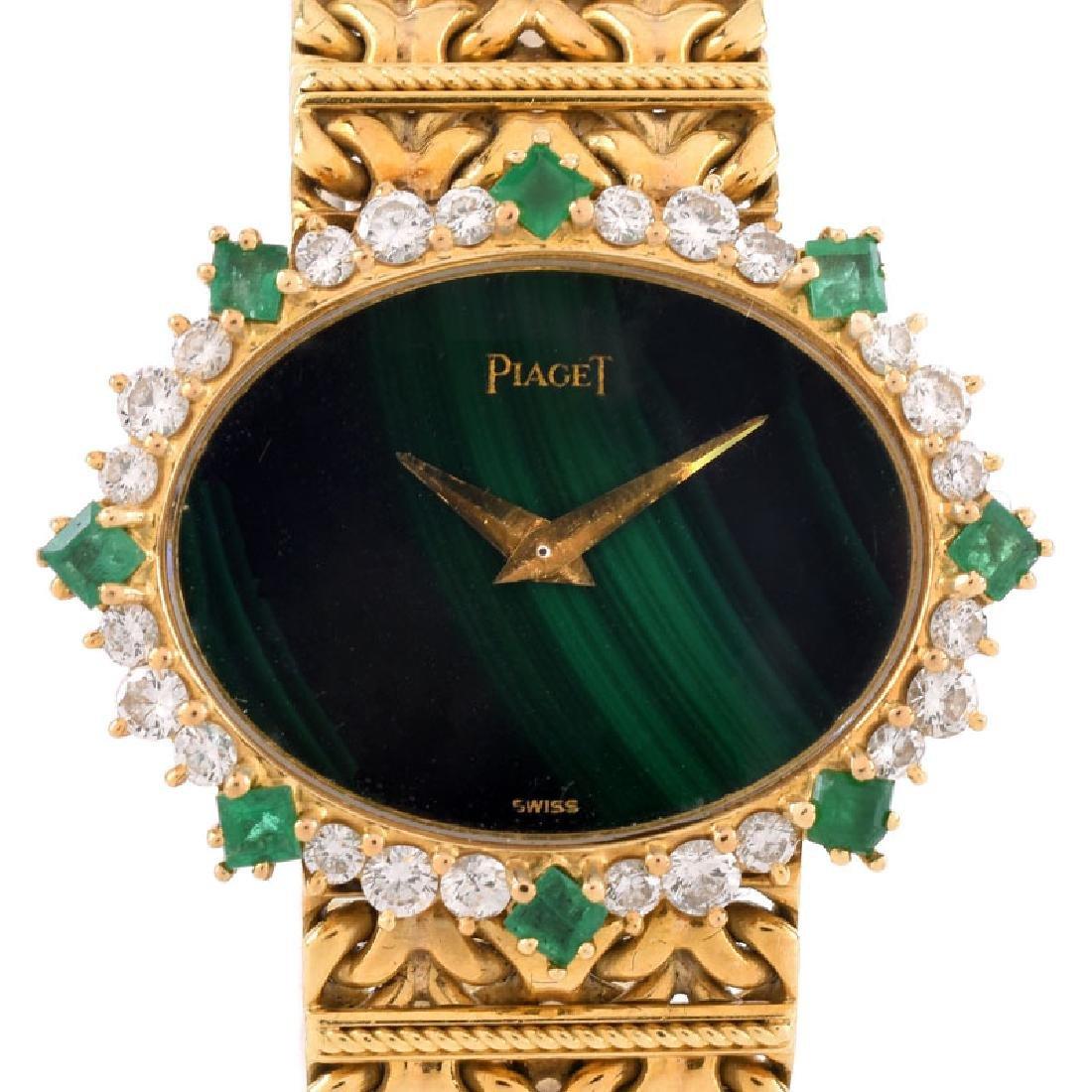 Lady's Vintage Piaget 18 Karat Yellow Gold, Diamond and - 3