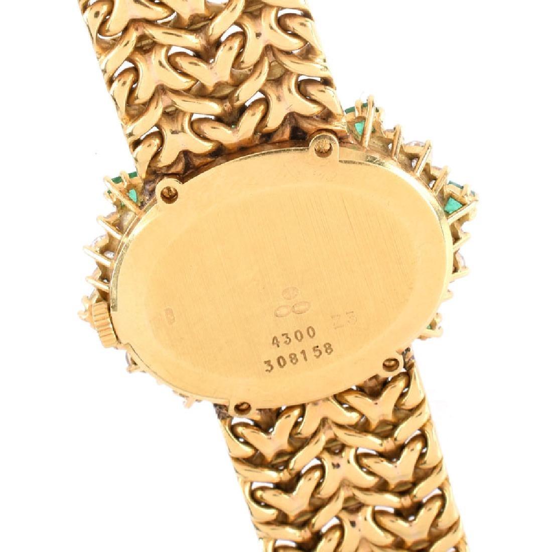 Lady's Vintage Piaget 18 Karat Yellow Gold, Diamond and - 4
