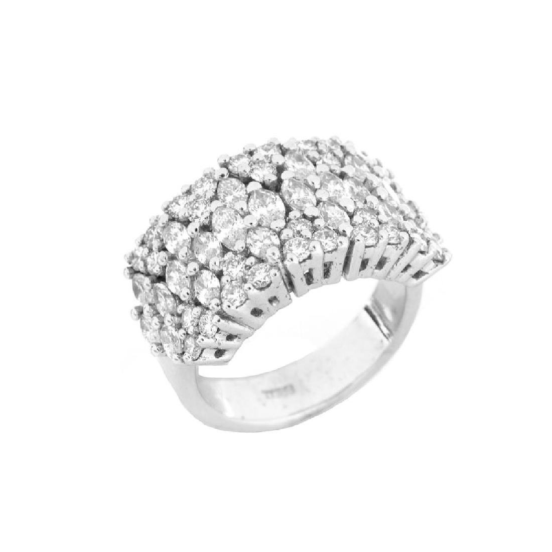 Approx. 2.35 Carat TW Marquise and Round Brilliant Cut