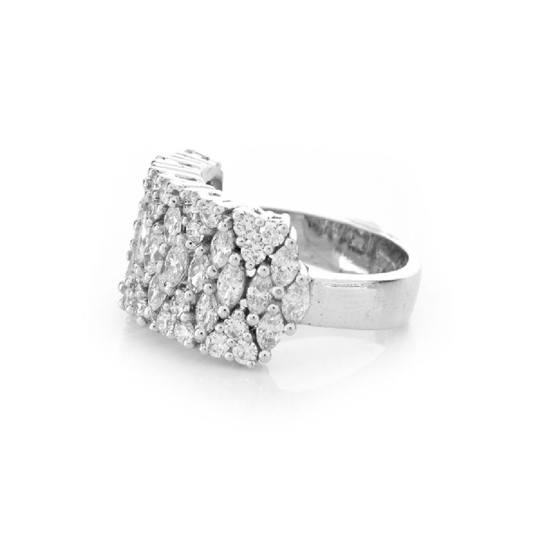 Approx. 2.35 Carat TW Marquise and Round Brilliant Cut - 3