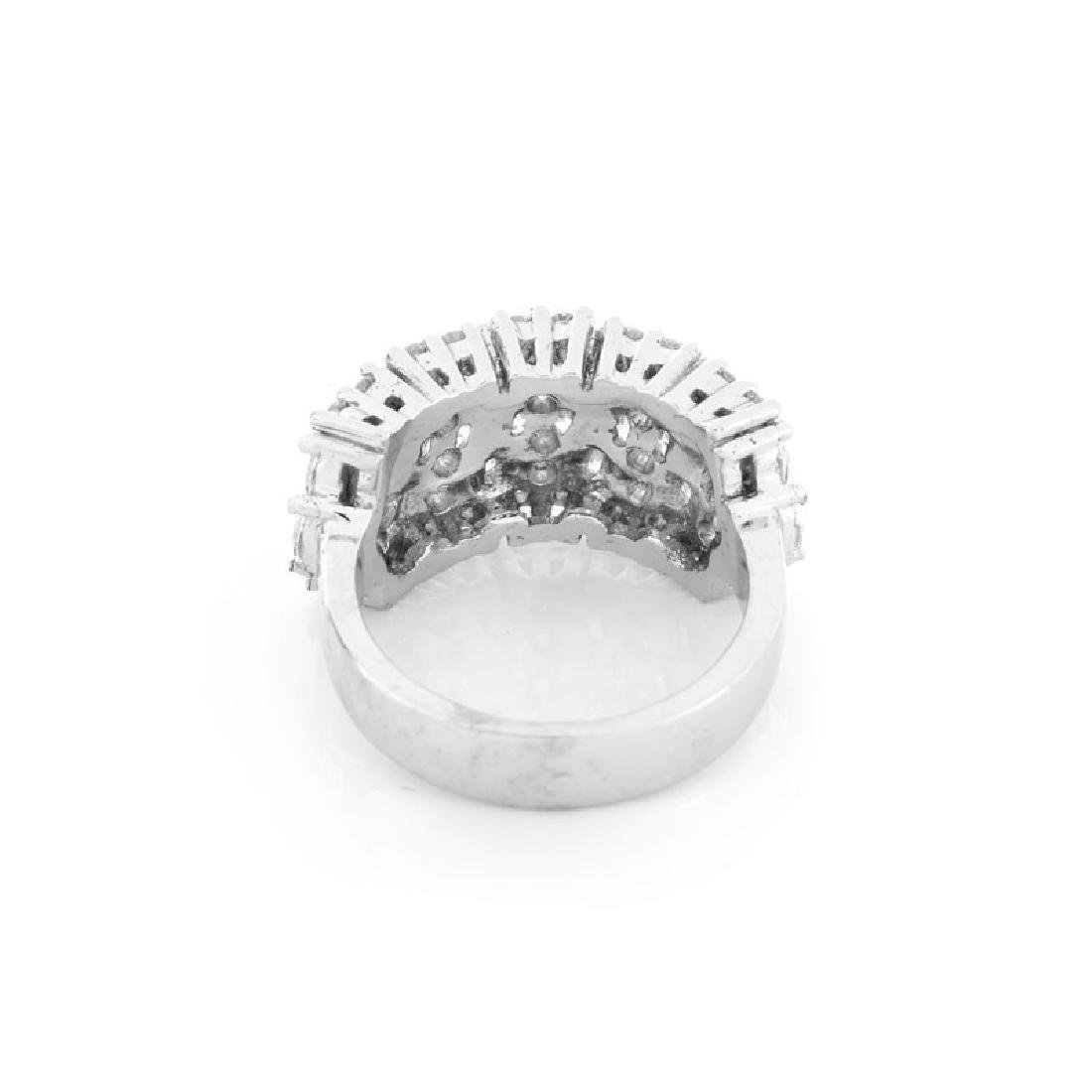 Approx. 2.35 Carat TW Marquise and Round Brilliant Cut - 4