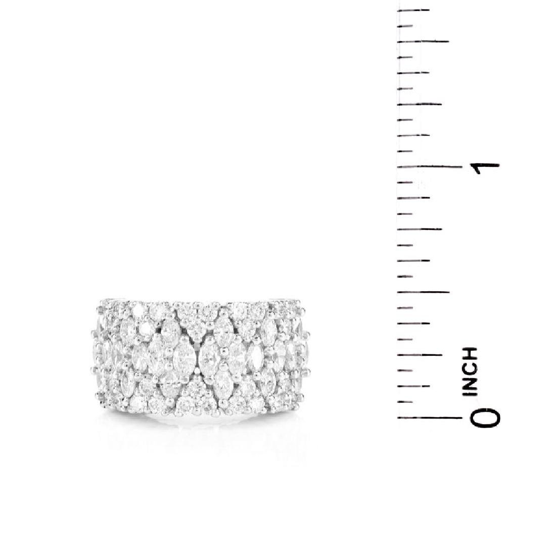 Approx. 2.35 Carat TW Marquise and Round Brilliant Cut - 6