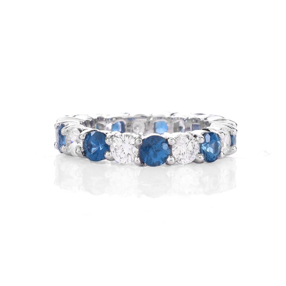 Approx. 2.62 Carat Round Brilliant Cut Sapphire, 1.85 - 2