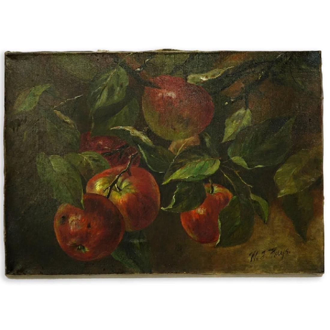 William Hays Sr., American (1830 - 1875) Oil on Canvas