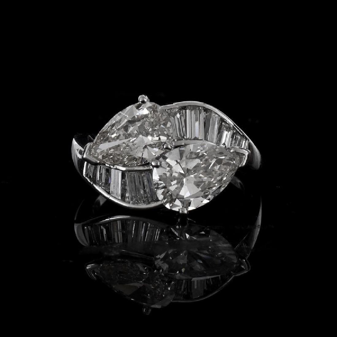 Vintage Approx. 1.47 Carat Pear Shape Diamond, 1.22
