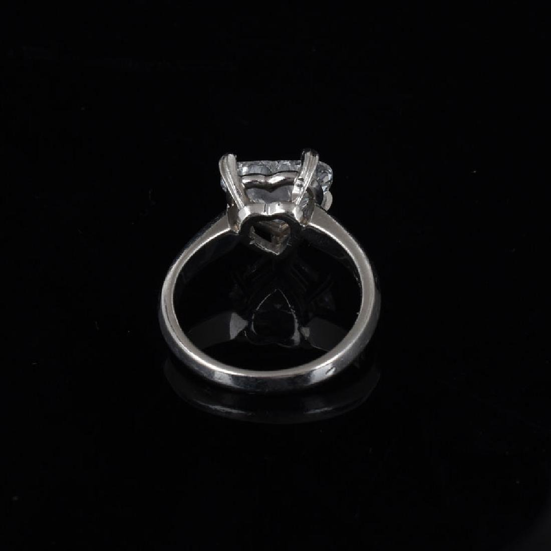 GIA Certified 2.53 Carat Heart Shape Diamond and - 3
