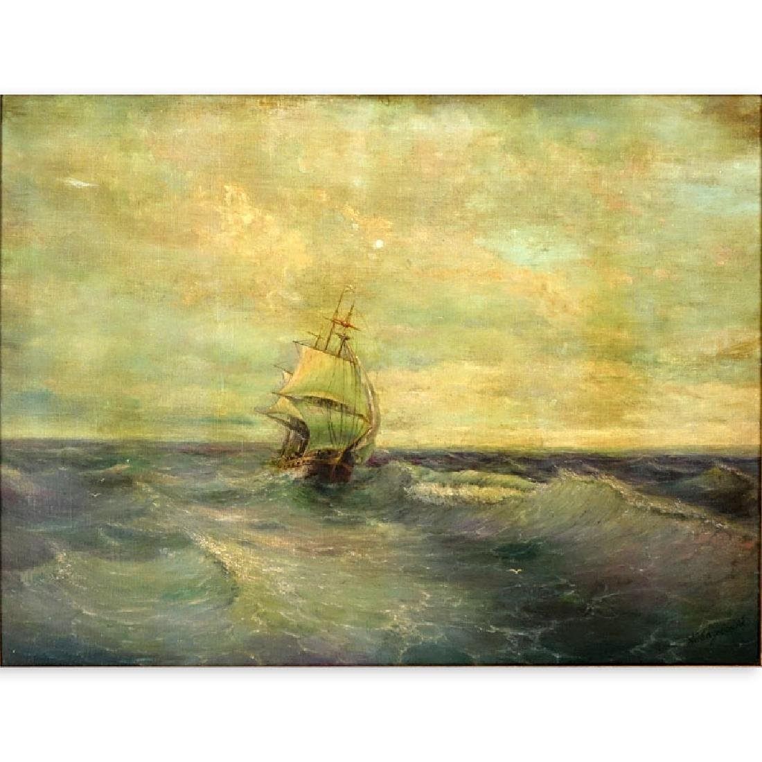 Attributed to: Ivan Konstantinovich Aivazovsky, Russian