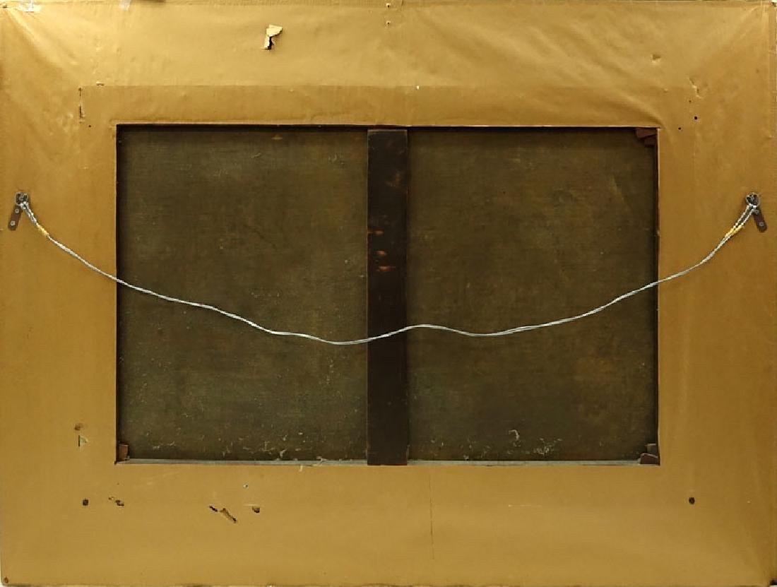 19/20th Century Spanish School Oil Painting On Canvas - 5