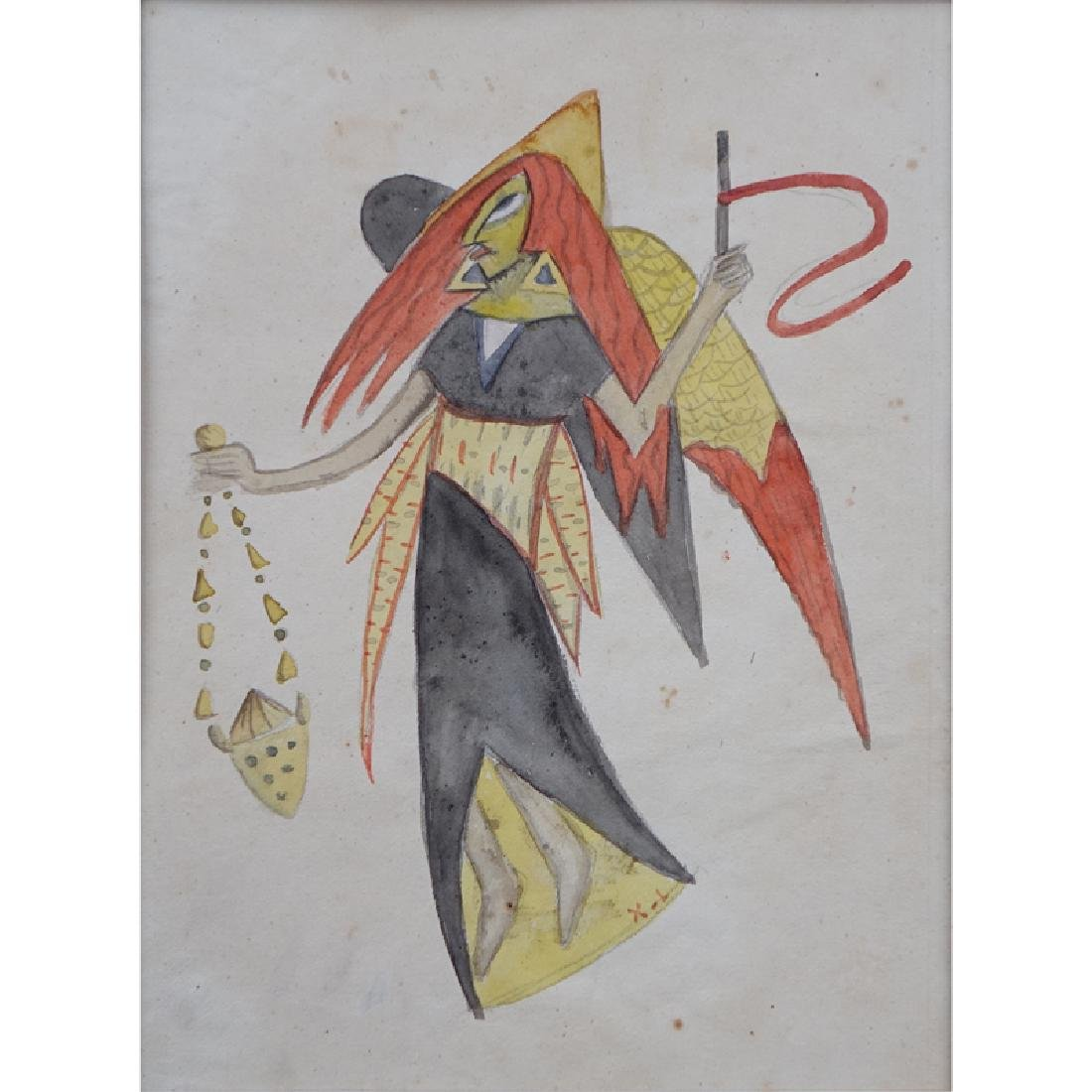 Attributed to: Xul Solar, Argentinian (1887 - 1963)