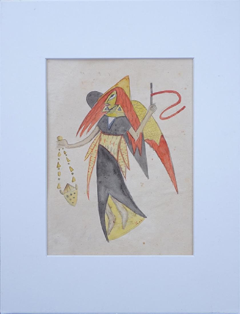 Attributed to: Xul Solar, Argentinian (1887 - 1963) - 2