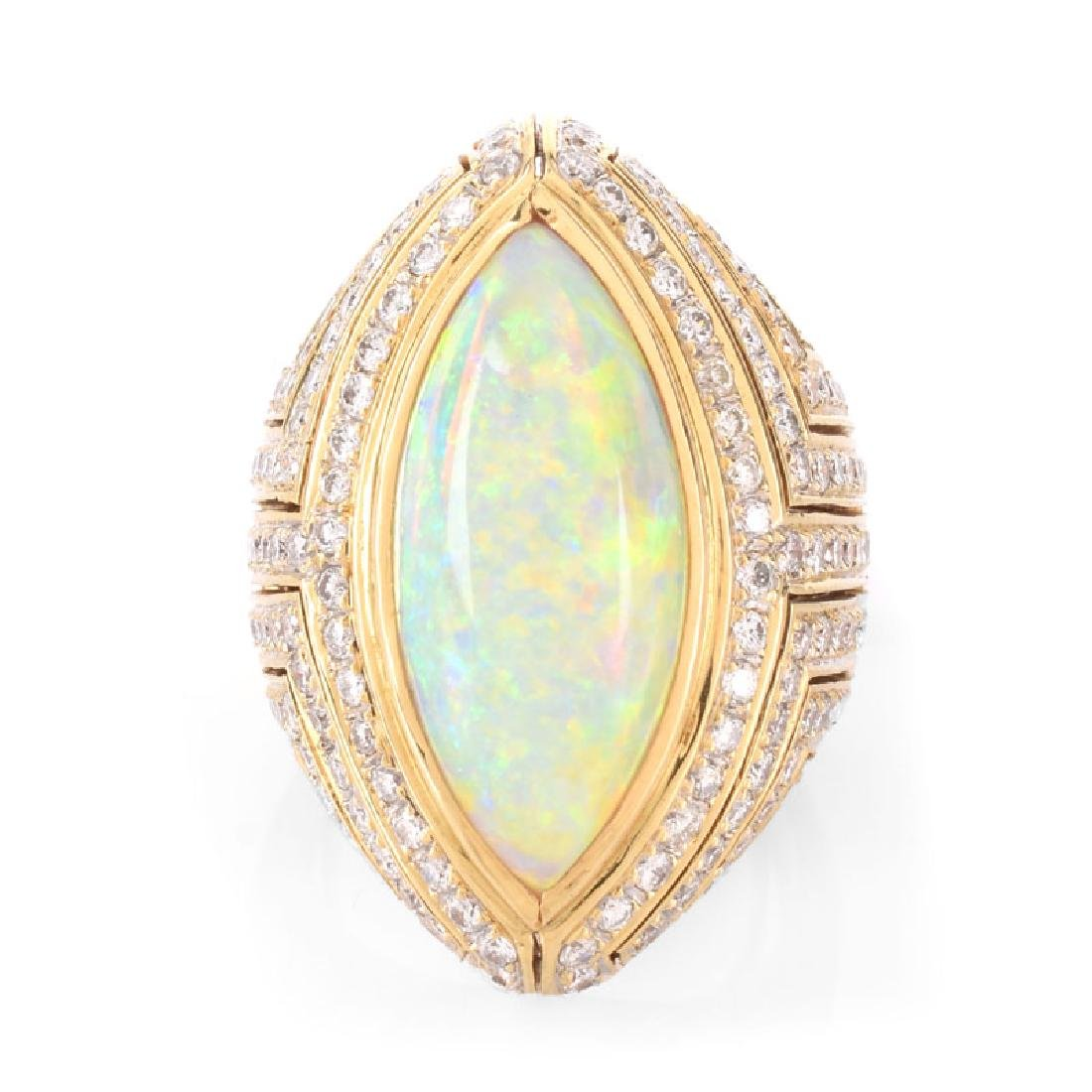 Vintage Approx. 12.0 Carat Marquise Cabochon Opal, 3.0 - 2