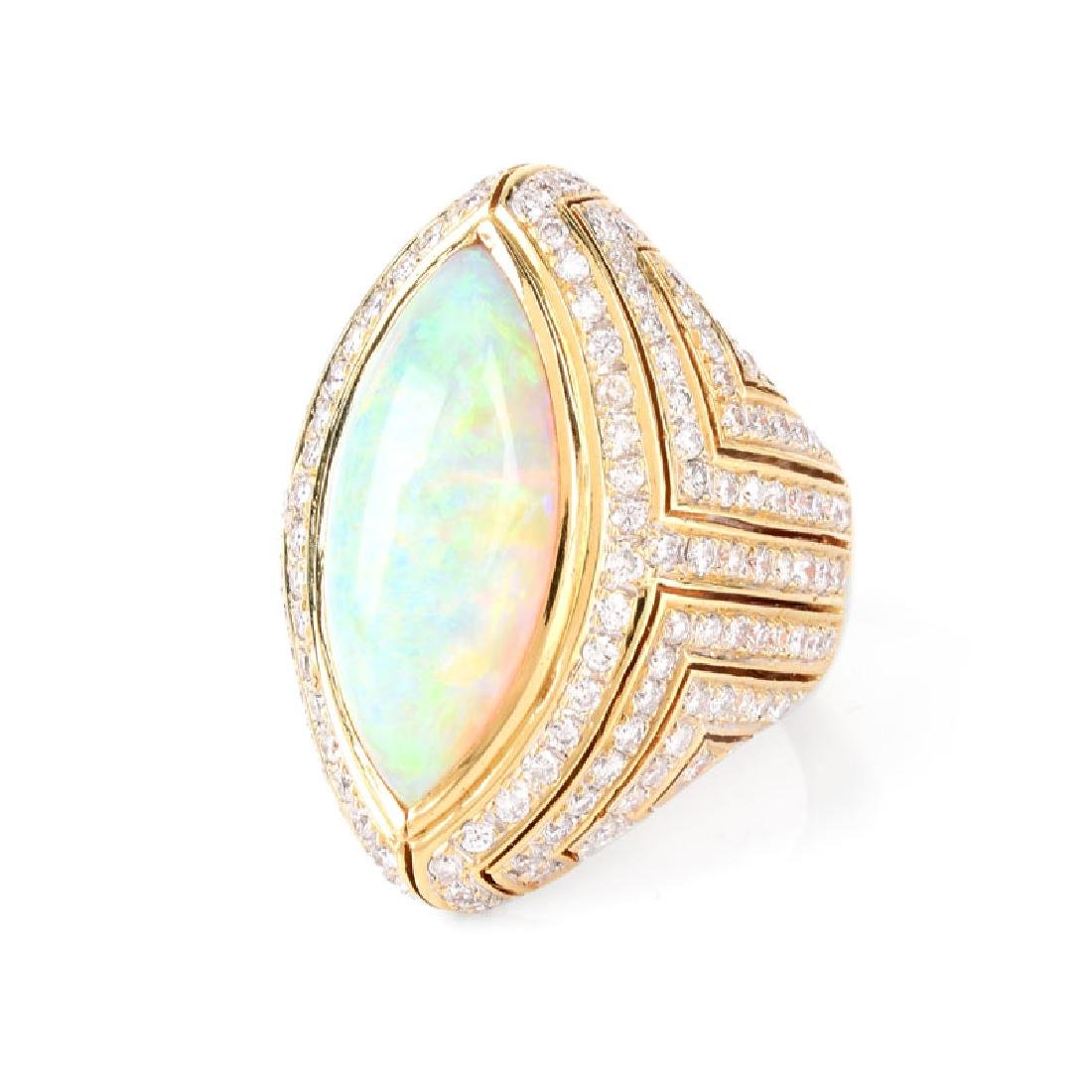 Vintage Approx. 12.0 Carat Marquise Cabochon Opal, 3.0 - 3