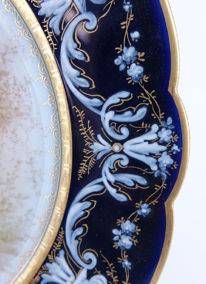 19/20th Century Sevres Portrait Plate - 3