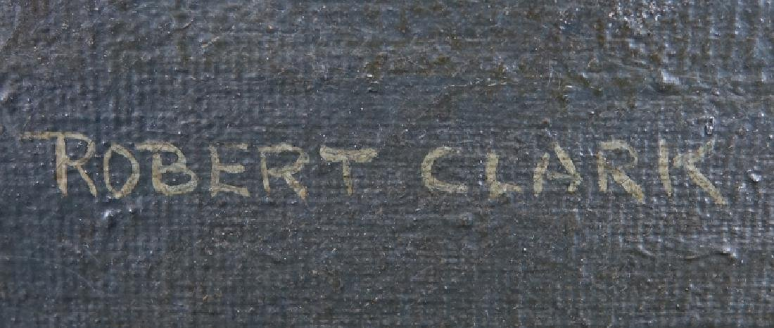 Robert Clark, American (1920-1997) Egg Tempura on - 3