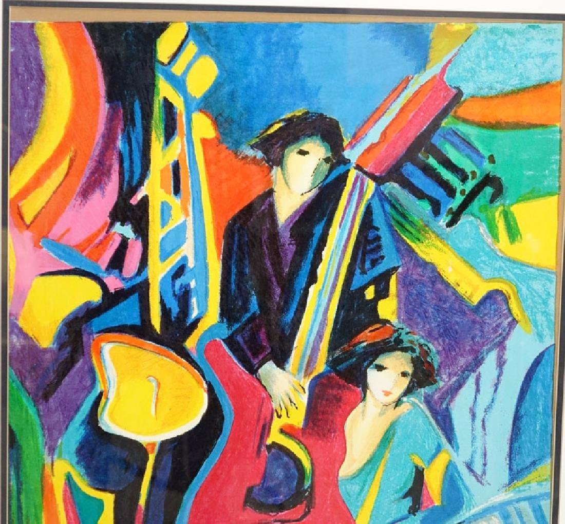 Philip Maxwell, Parisian (b. 1964) Serigraph on Canvas - 3