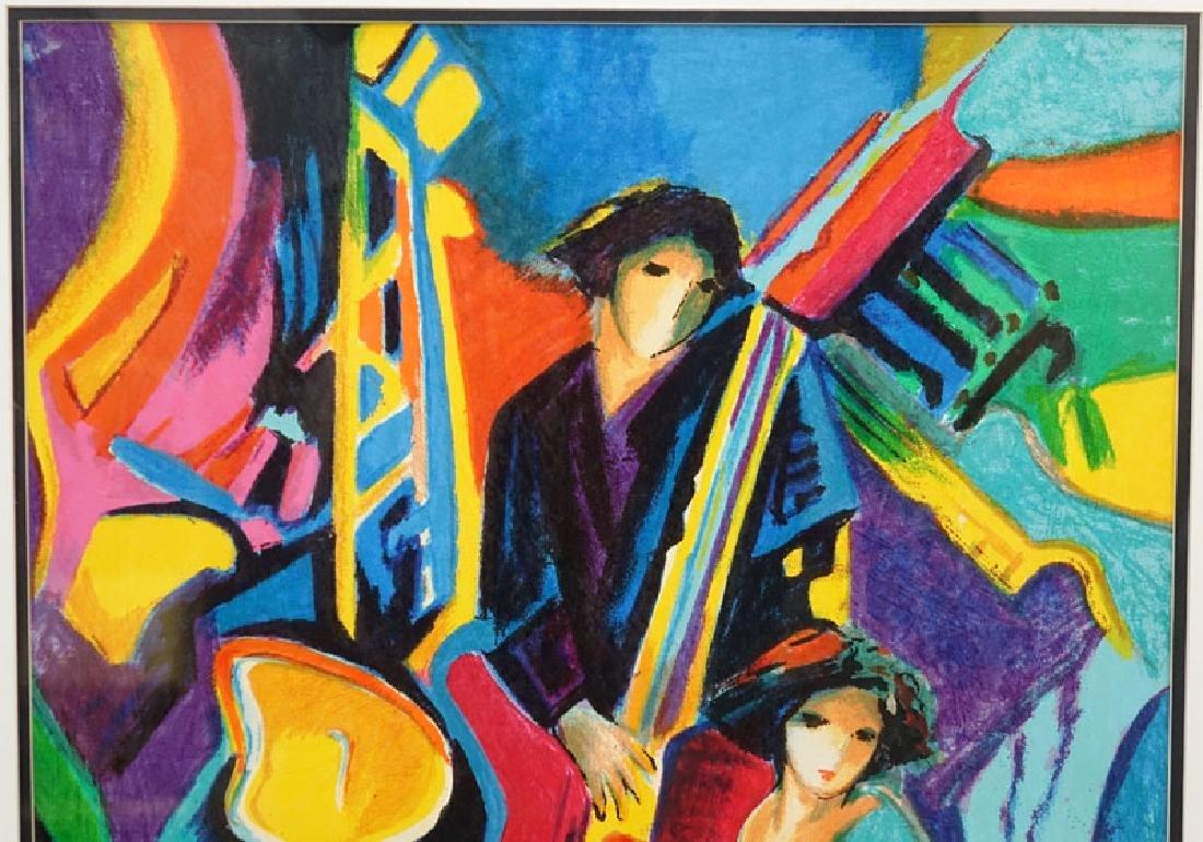 Philip Maxwell, Parisian (b. 1964) Serigraph on Canvas - 5