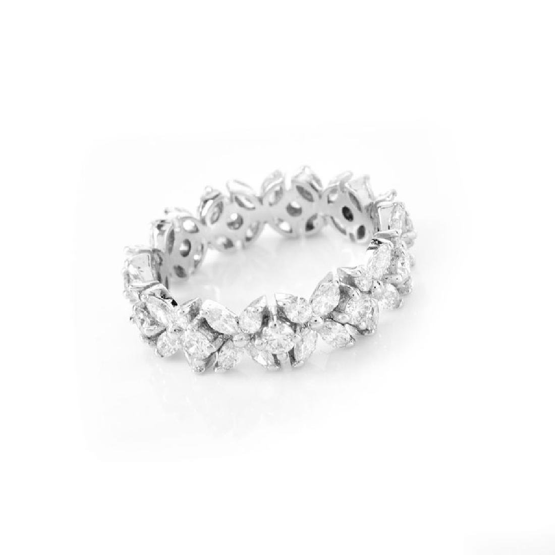 Approx. 2.80 Carat TW Marquise and Round Brilliant Cut - 3