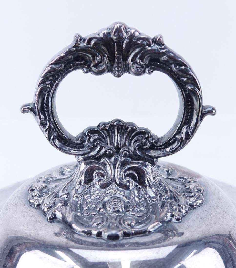 Collection of Three (3) Wallace Baroque Silver Plate - 3