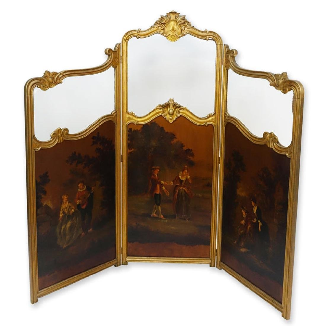 19/20th Century Probably French Carved and Giltwood