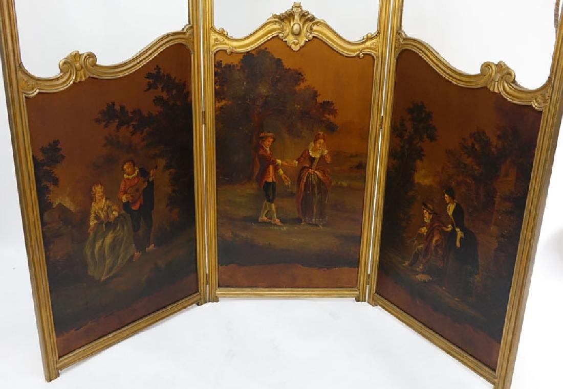 19/20th Century Probably French Carved and Giltwood - 2