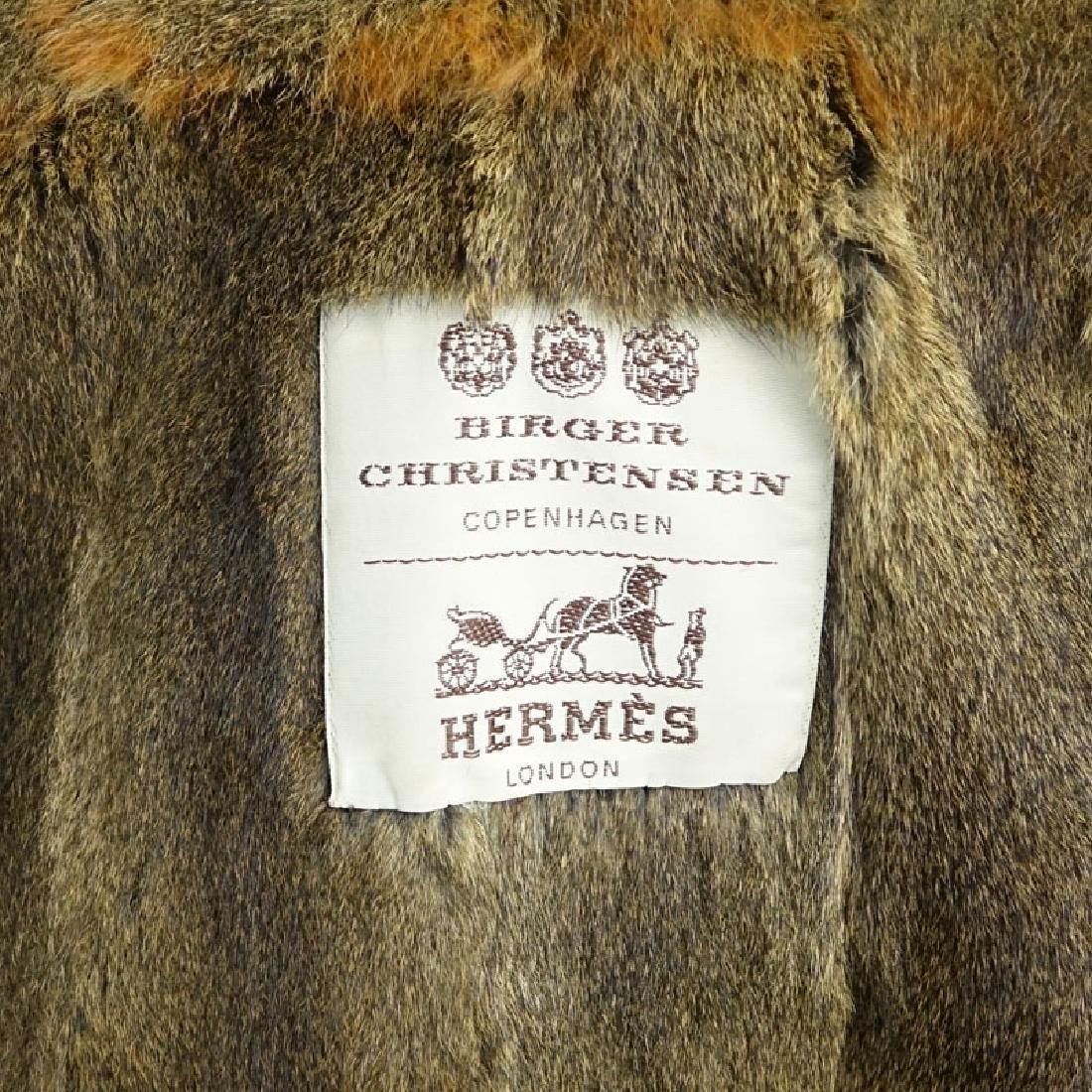 Men's Birger Christensen Hermes Fur Lined Poplin Trench - 5