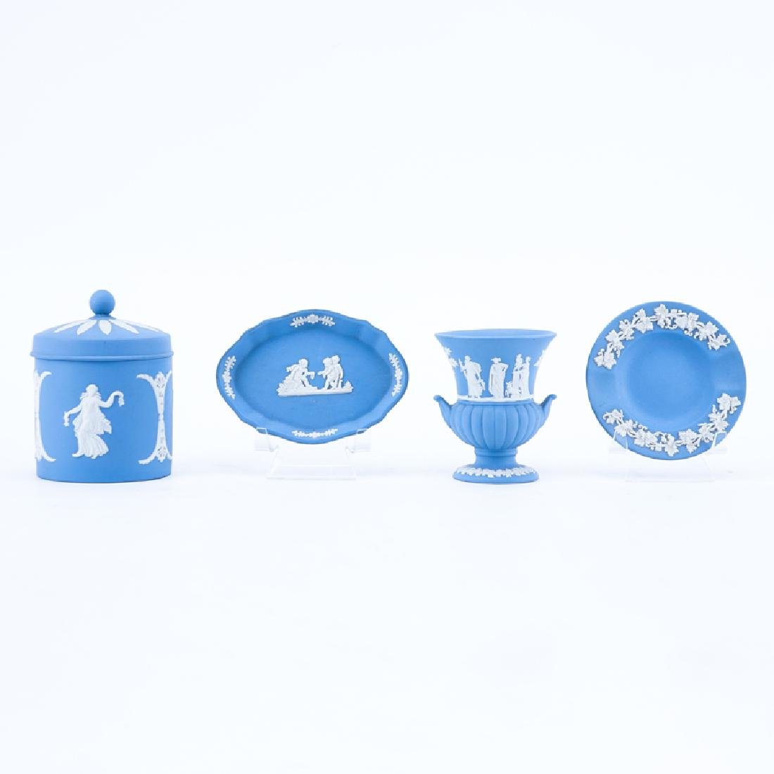Collection of Four (4) Wedgwood Jasperware Tableware
