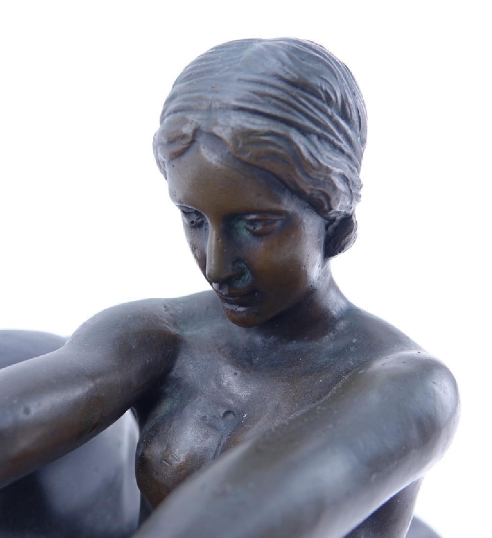 L. Bassin, French (20th Century) Art Deco Bronze - 4