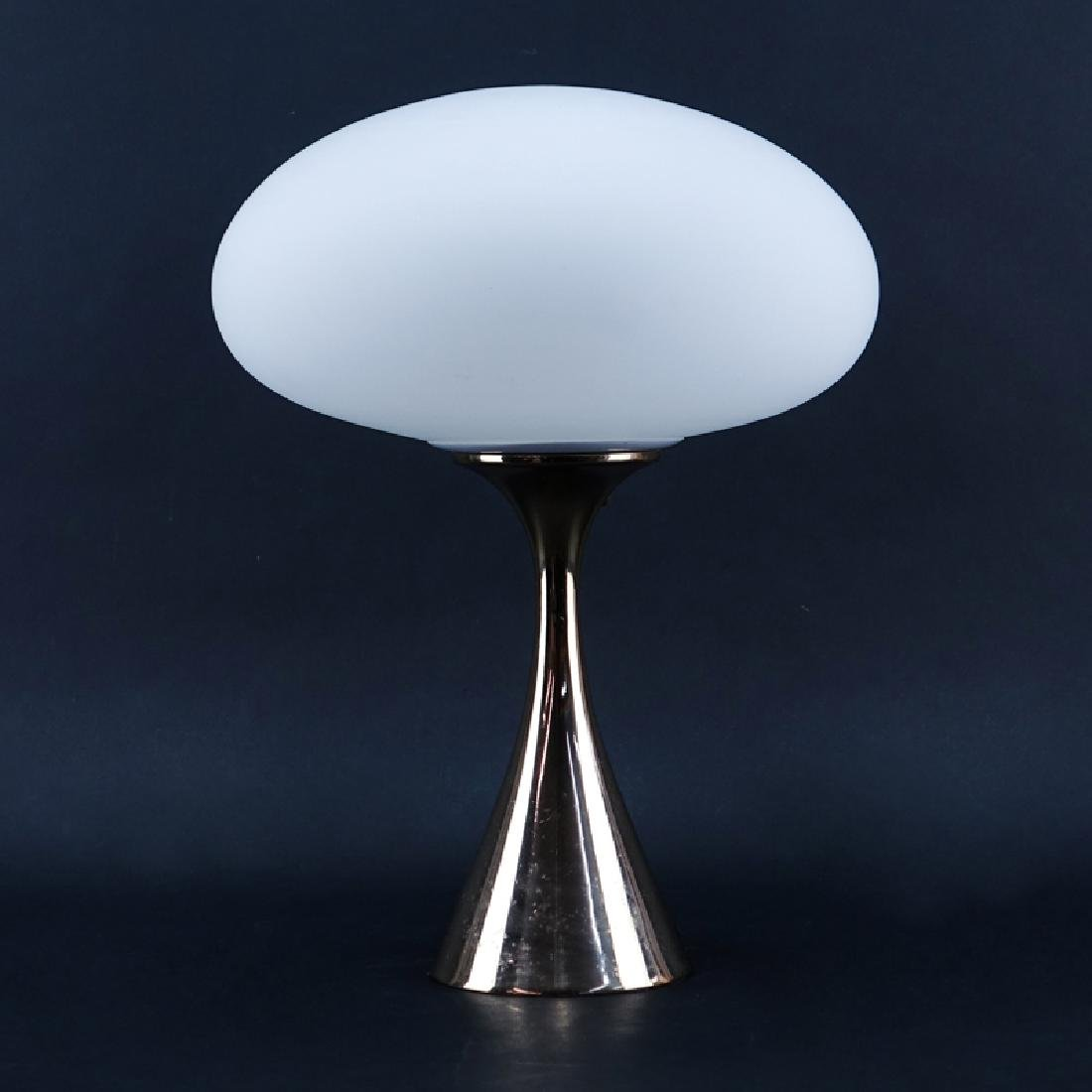 Laurel Lamp Co. Mid Century Modern Aluminium Mushroom