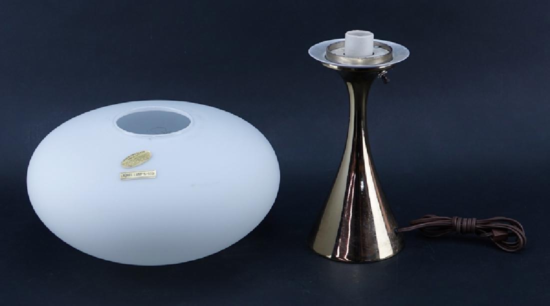 Laurel Lamp Co. Mid Century Modern Aluminium Mushroom - 2